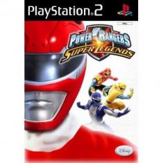 Power Rangers: Super Legends PS2