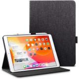 Husa Flip Apple iPad 7 10.2 (2019) - ESR Simplicity Pencil Black