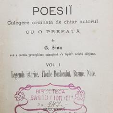 POEZII de DIMITRIE BOLINTINEANU, VOL. I - BUCURESTI, 1877