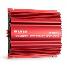 Auna C500.4 amplificator auto- 4 canale, 4 x 65 W RMS