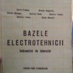 Bazele electrotehnicii – David Frasari