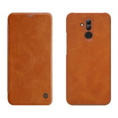 Nillkin Qin Husa din Piele Cover pentru Huawei Mate 20 Lite brown