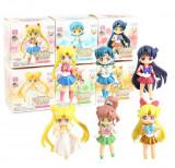 Set figurina Sailor Moon Tsukino Usagi Sailor Mercury Mars 8 cm anime