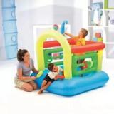 Spatiu de joaca gonflabil Intex cu 6 inele gonflabile, minge | Interior-Exterior, Unisex