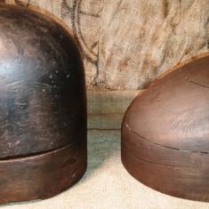 Forme vechi de lemn folosite la palarii - decor rustic