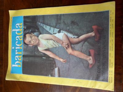 ZIarul Baricada 27 oct 1992 an 3 Iliescu foto