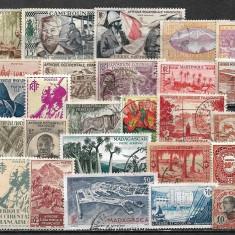 6019 - lot timbre colonii franceze