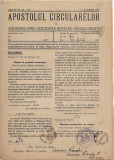 Apostolul circularelor nr 13-14, 1937 Arhiepiscopia Ortodoxa Romana