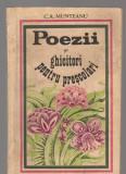 C8286 POEZII SI GHICITORI PENTRU PRESCOLARI DE C.A. MUNTEANU