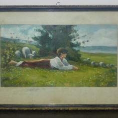 Tarancuta// reproducere de epoca dupa Nicolae Grigorescu, U/C