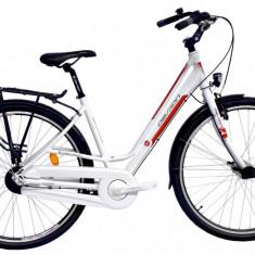 Bicicleta Dama Devron Urbio LC1.8 S 480mm Crimson White 28