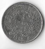 Moneda 1 franc 1989 - Franta