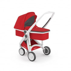Carucior 2 in 1 Greentom 100% Ecologic White Red
