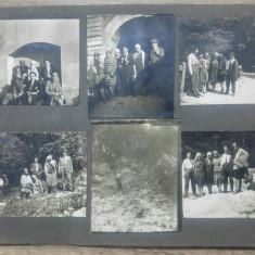 Tineri in diverse calatorii/ lot 11 fotografii
