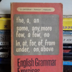 ENGLISH GRAMMAR EXERCISES-D. Chitoran
