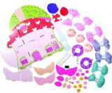 Set creativ Galt Fairy Pompom House