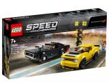 LEGO Speed Champions, 2018 Dodge Challenger SRT Demon si 1970 Dodge Charger R/T 75893