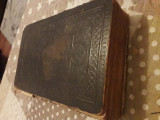 Biblie veche de 146 de ani + Sfanta Traditie + Manual Cantari Biserice