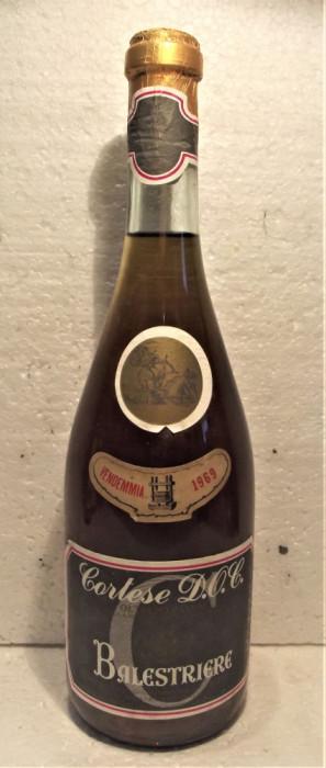 C 3 - Vin CORTESE, DOC, BALESTRIERE, cl 75 gr 11,2 recoltare 1969