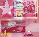 GHANA 1 cedi 2019 UNC!!!