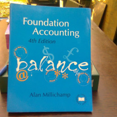 Foundation accounting - Alan Millichamp (Contabilitatea fundației)