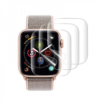 Set 3 Folii Protectie Silicon Samsung Galaxy Watch Active2 42mm foto