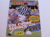 "Revista fotbal-""HURRA`""JUVENTUS TORINO(ianuarie 1995)Mega poster JUVE 94/95"
