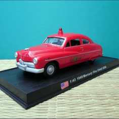 Macheta pompieri Mercury Fire Chief (1949) 1:43 Del Prado