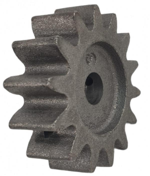Pinion de antrenare cu 14 dinti, pentru betoniera HCM600, 180L