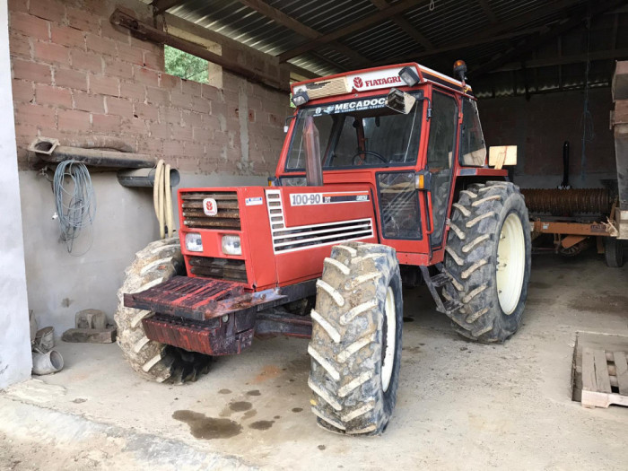 Tractor FIAT 100-90 DT, 8.709 ore, 4x4, import 2021