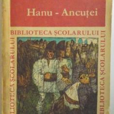 HANU - ANCUTEI de MIHAIL SADOVEANU, ILUSTRATIA COPERTEI de GYORGY MIHAIL, 1970
