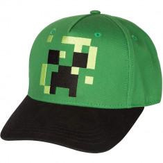 Sapca Minecraft Pixel Creeper foto