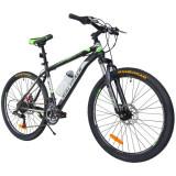 Cumpara ieftin Bicicleta de munte MalTrack Team, roata 26 inch, 18 viteze schimbator Shimano, jante aluminiu, cadru 18'', frane disc