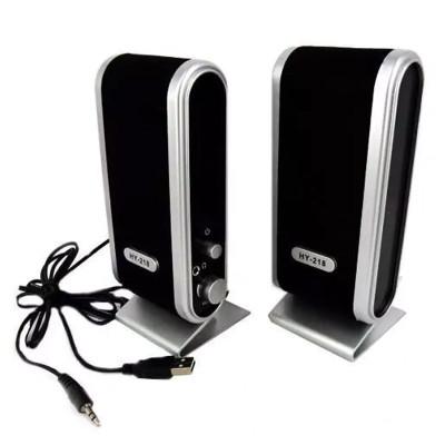 Boxe PC Camac HY-2030, USB, Negru foto