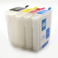 Cartuse reincarcabile pentru HP 88