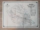 Harta judetului Iasi 1908
