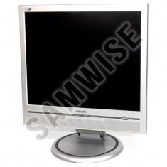 """Monitor LCD Philips 17"""" 170B, 1280 x 1024, 8ms, DVI, VGA, Cabluri incluse"""