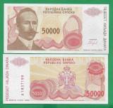 = BOSNIA – 50 000 DINARA - 1993 -  UNC   =