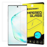 Folie Sticla Samsung Galaxy Note 10 Fara Lampa si Gel UV Wozinsky UV 5D Transparent