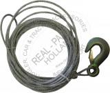 Cablu troliu 6 metri, 5mm grosime, sarcina 2 tone Kft Auto