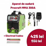Cumpara ieftin Aparat de Sudura Procraft Germany MMA 300A, INVERTOR PROFESIONAL, AWH300T