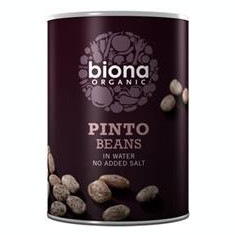 Fasole Pinto in Suc Propriu Bio Biona 400gr Cod: 5032722302990