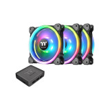Ventilator carcasa Thermaltake Riing Trio 14 RGB 3 Fan Pack
