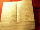 Harta istorica - Dacia inainte de cucerirea romana sec.V-ien-sec.I en -asezari