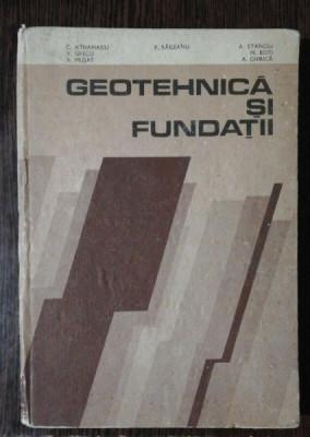 GEOTEHNICA SI FUNDATII - G.ATHANASIU & CO foto