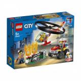 LEGO® City - Interventie cu elicopterul de pompieri (60248)