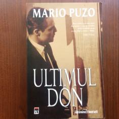 Ultimul don Mario Puzo grupul editorial rao 2007 carte roman