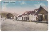 # 2442-  Romania, Marosujvár, Ocna Mures  c.p. circ. 1918? Strada Miko, anim