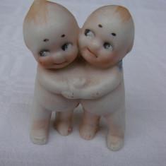 Doi bebelusi din portelan glazurat japonez marcaj A602