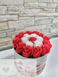 Trandafiri de sapun, Cutie, Aranjamente, Cadou